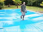 test norme sécurité bache piscine