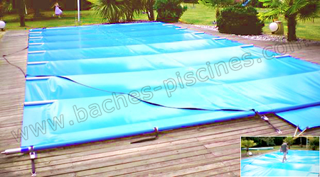 Couverture de securite piscine for Couverture piscine 4 saisons