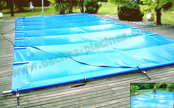 Bache barre de piscine couverture piscine 4 saisons for Bache a barre piscine