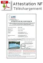 LNE conformité NF P90-308