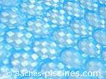 couverture à bulles renforcée bleu 400 microns