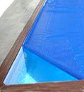 couverture bleue bulle été