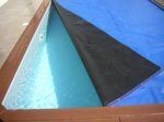 couverture piscine bache été noir