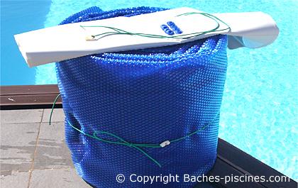 Couverture à bulles piscine