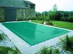 bache piscine verte
