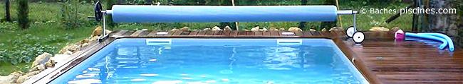 Enrouleur pour piscine enterrée