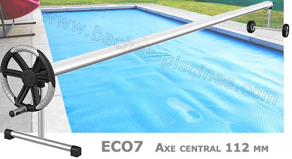 Enrouleur Télescopique bâche piscine Eco7