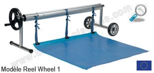 Enrouleur piscine bache avec roue