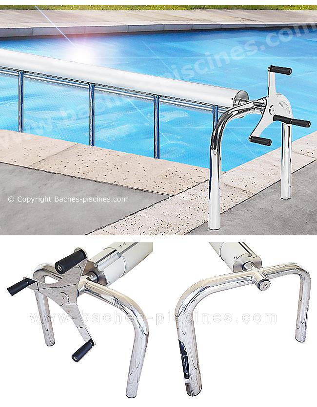 Enrouleur spécial piscine grandes dimensions