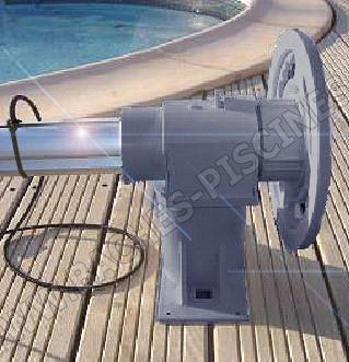 Enrouleurs de piscine hors sols discount baches for Volant pour enrouleur bache piscine