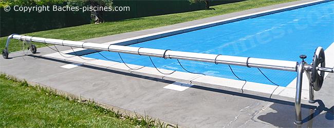 volant enrouleur bache ete piscine