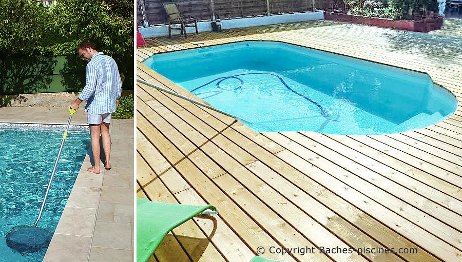 Accessoires de nettoyage et d'entretien piscine