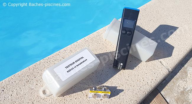 testeur digital de redox piscine