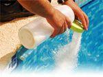 chlore et produit piscine
