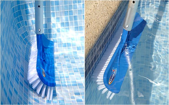 balai brosse fond piscine