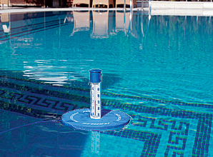 Thermom tre duo sp cial volet flottant for Thermometre piscine