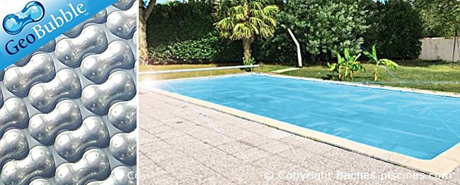 couverture piscine rectangle silver 500