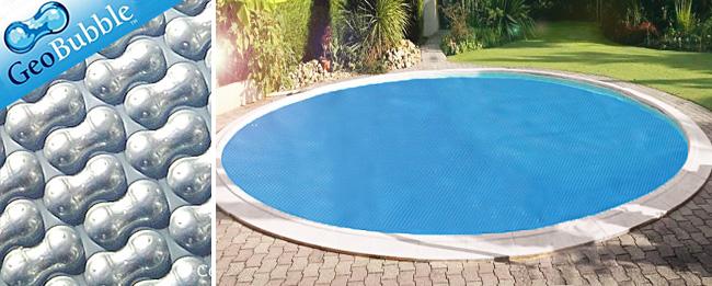 couverture piscine ronde ALU BULLE