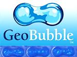couverture piscine geobubble bleue