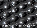 couverture bulle piscine noir 400 microns