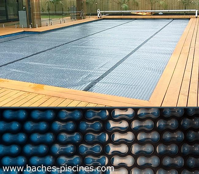 Couverture bâche à bulles piscine New Energyguard