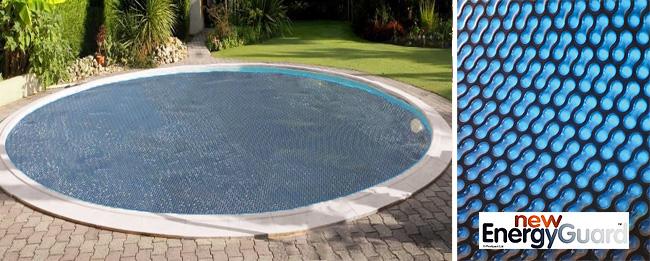 couverture piscine ronde
