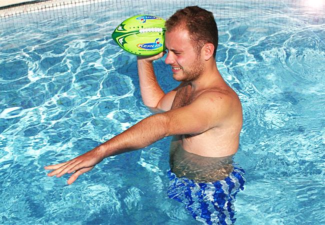 ballon football américain en néoprène