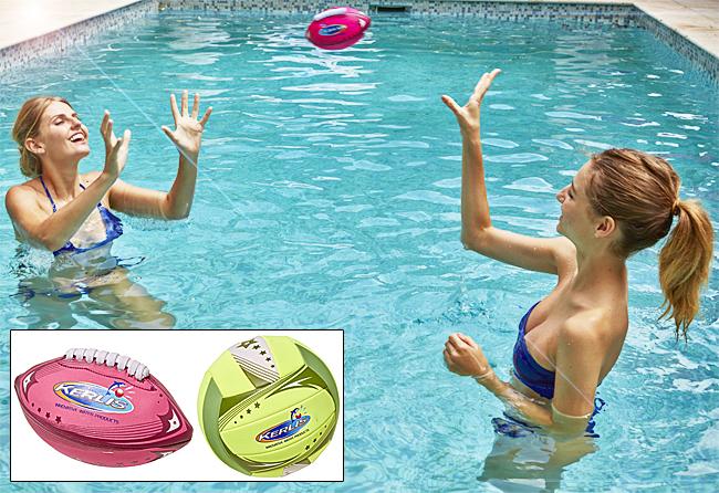 Jeus 2 ballons piscine