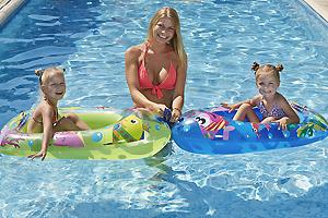 bateau enfant gonflable sea life
