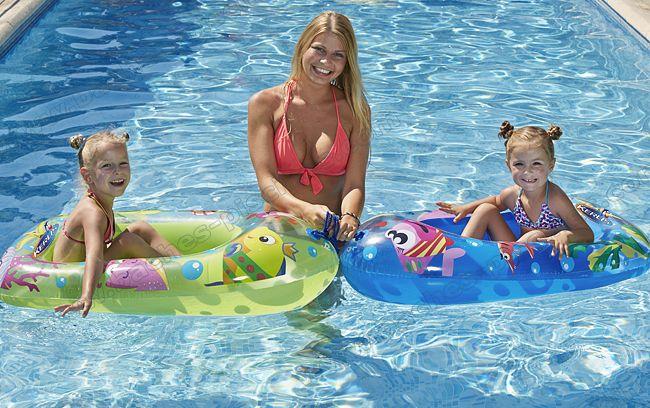 BATEAU enfant piscine gonflable