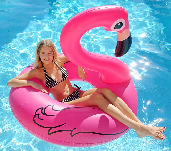 Bouée géante piscine gonflable