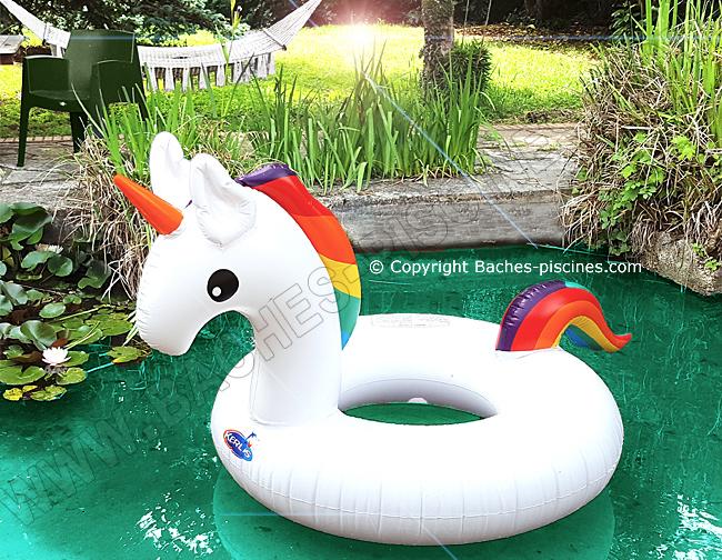 jeu licorne piscine