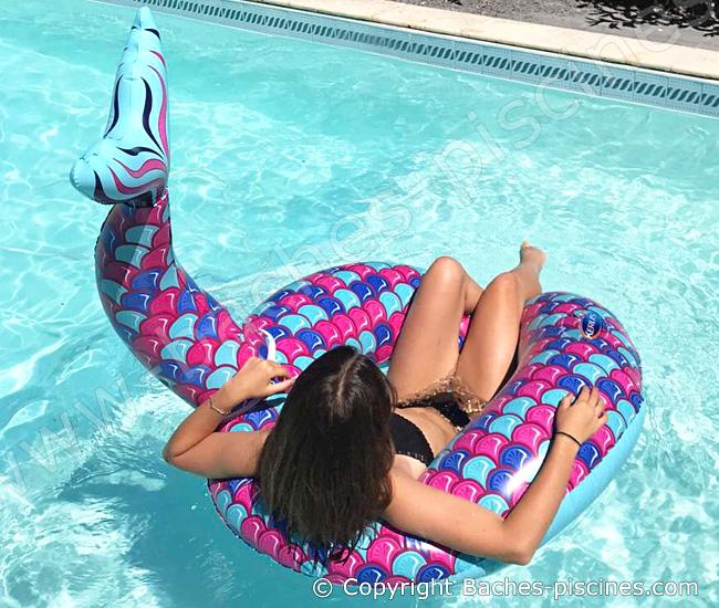 Sirène jeux piscine