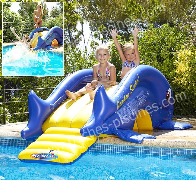 Jeux piscine toboggan enfant - Jeux gonflable enfant ...