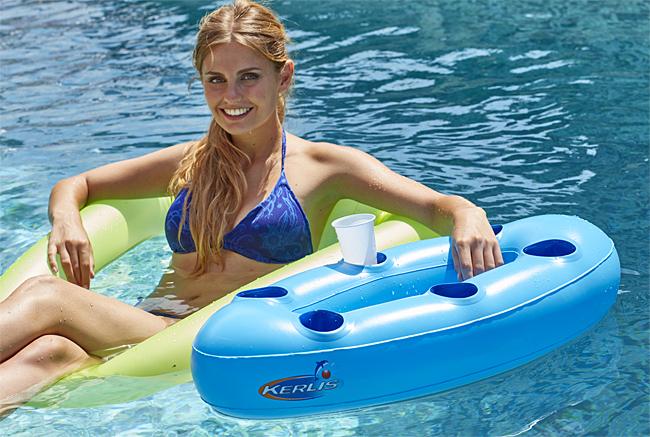 Mini bar flottant piscine