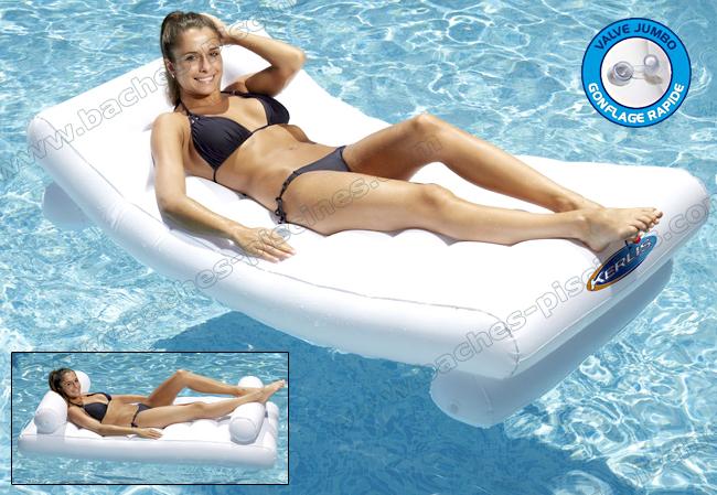 matelas confort piscine