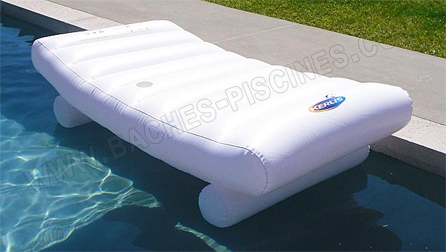 Fauteuil de piscine amovible for Siege flottant pour piscine
