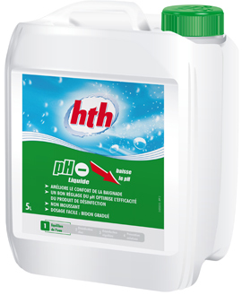 ph moins liquide hth