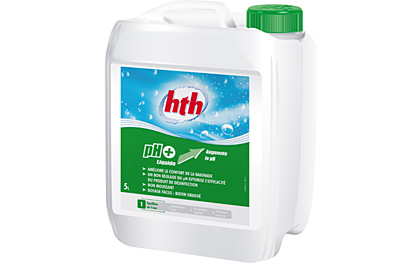 Ph plus piscine produit chimie hth for Produit piscine hth