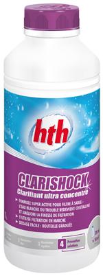 Clarishock produit piscine for Clarifiant piscine
