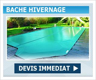 Bache hiver piscine en promo -10%
