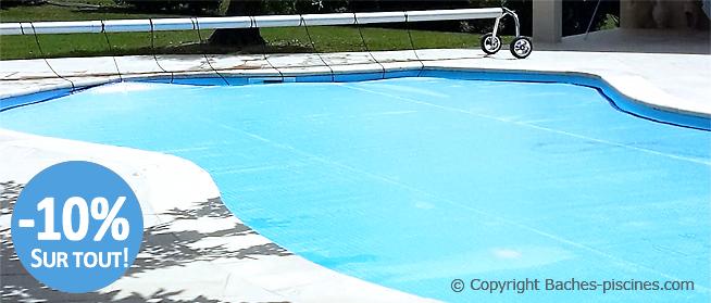 Couverture bulle piscine et solaire