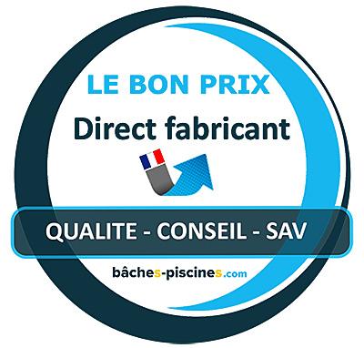 BACHE PISCINE Fabrication française DIRECT USINE