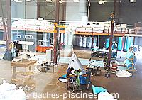 Usine TEXIPOOL BACHES-PISCINE.COM