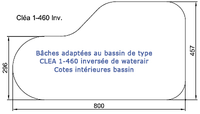 Clea 1-460 inversée waterair