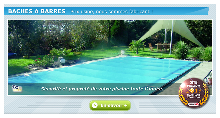 Couverture barre piscine