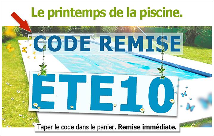 Couvertures piscines à barres