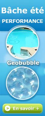 Bâche été solaire Geobubble
